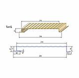 Металлосайдинг вертикальный | 0,5 мм | Тип А | PSM profile | RAL 9006, фото 4