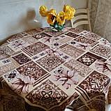 Клеёнка Mirella на флизелиновой основе Турция Клеенка столовая Мирелла, фото 2