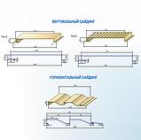 Металлосайдинг вертикальный | 0,5 мм | Тип А | PSM profile | RAL 9006, фото 5