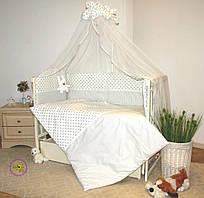 Постельный набор для новорожденных Greta lux- Кролик 7 предметов