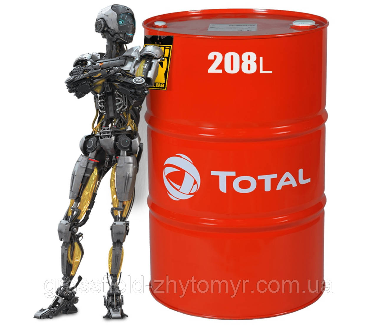 Олива TOTAL DYNATRANS MPV 10W 208L