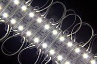 Светодиодный модуль smd 5050 Холодный белый 6500К 2 диода, фото 1