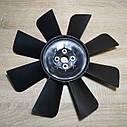 Вентилятор системы охлаждения (крыльчатка) Газель,Соболь 8 лопастной черный (пр-во ГАЗ), фото 2