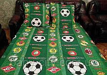 Постельный комплект 1.5 спальный Футбол.