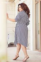 Платье-рубашка из суперсофта. Впереди три кармана. Застёжка на пуговицах, р. 46,48,50,52,54 код 3192Ф, фото 3