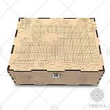 Двоярусний органайзер для вишивання бісером чи хрестиком Органайзер_201, фото 2