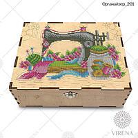 Двухъярусный органайзер для вышивания бисером или крестиком Органайзер_201