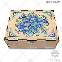 Двухъярусный органайзер для вышивания бисером или крестиком Органайзер_203