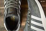 Мужские кроссовки Adidas Iniki Runner (черно/белые) KS 1455, фото 7