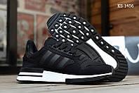 Мужские кроссовки Adidas ZX500 RM (черно-белые) KS 1456