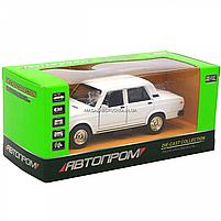 Машинка ігрова Автопром Жигулі Білий зі світловими і звуковими ефектами (7794), фото 3