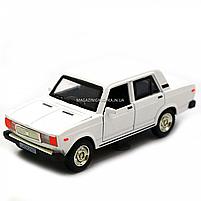 Машинка ігрова Автопром Жигулі Білий зі світловими і звуковими ефектами (7794), фото 4