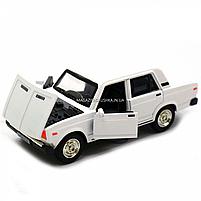 Машинка ігрова Автопром Жигулі Білий зі світловими і звуковими ефектами (7794), фото 6