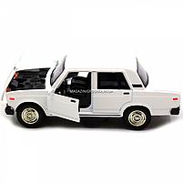 Машинка ігрова Автопром Жигулі Білий зі світловими і звуковими ефектами (7794), фото 7