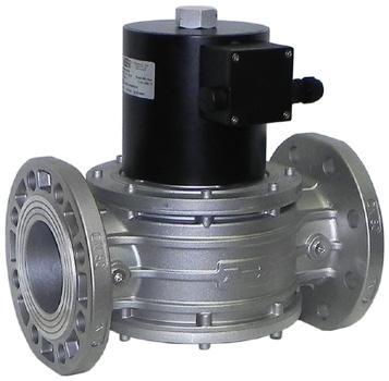 Электромагнитный клапан EVP/NC, DN65, P=360 mbar (MADAS)