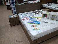 Спальня ЭЛАРА - ТМ Бучинский: кровать и тумбы - дуб винтаж