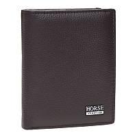 Мужской кожаный кошелек Horse Imperial k1010k-brown