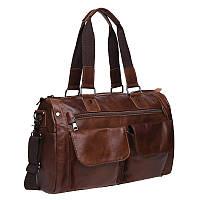 Мужская кожаная сумка Keizer K11026-brown