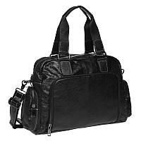 Мужская кожаная сумка Keizer K11028-black