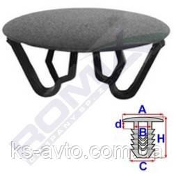 Заглушка універсальна (відп.22-30мм, капелюшок 35мм)