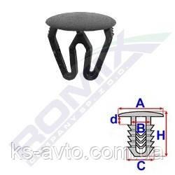 Заглушка універсальна (відп.9.5-13.5 мм, капелюшок 16мм)