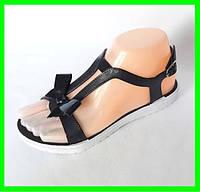 Женские Сандалии Босоножки Летняя Обувь Чёрные (размеры: 36,40)