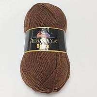 20% шерстяная пряжа Beyza Himalaya Турция, разные цвета, коричневый