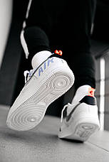 Кроссовки мужские Nike Air Force 1 Low Under Construction (белые) (Top replic), фото 3