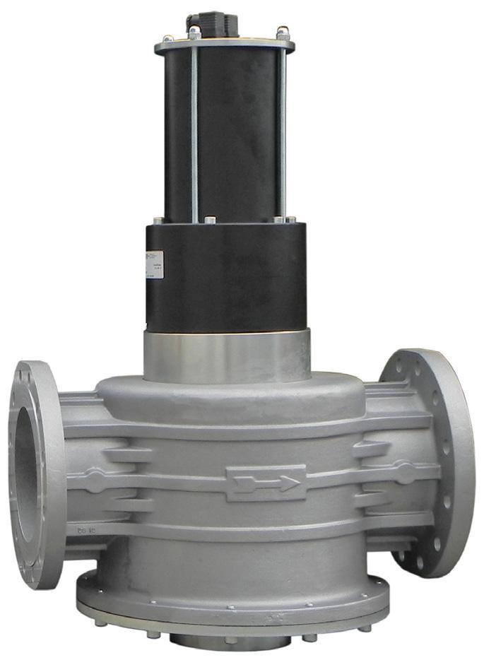 Электромагнитный клапан EVPF/NC, DN200, P=360 mbar (MADAS)