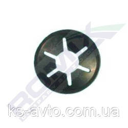 Монтажна Пластина універсальна кругла (діаметр 16мм під гвинт 6мм)