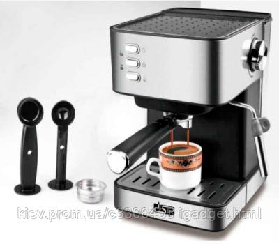 Кофе машина полуавтоматическая DSP espresso Coffee Maker KA3028 с капучинатором