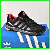 Мужские Кроссовки Adidas Fast Marathon Чёрные Адидас (размеры: 41,43,44,45,46) Видео Обзор