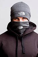 Комплект The North Face winter gray