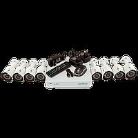 Комплект видеонаблюдения на 8 камер 1080P Green Vision GV-K-S14/08