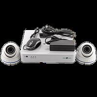 Комплект видеонаблюдения IP Green Vision GV-IP-K-S33/02 1080P