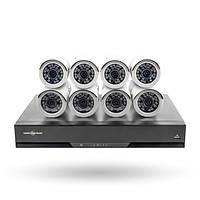 Комплект видеонаблюдения IP Green Vision GV-IP-K-S32/08 1080P