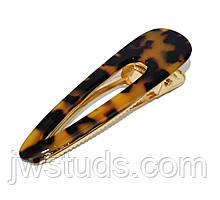Заколка для волос ЗАЖИМ 1 шт. леопард