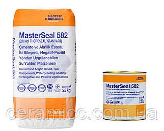 MasterSeal® 582 двух компонентная минерально-акриловая гидроизоляция