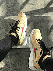 Кроссовки мужские Nike Air Monarch IV бежевые (Top replic), фото 2
