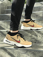 Кроссовки мужские Nike Air Monarch IV бежевые (Top replic), фото 3