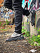 Кроссовки мужские Adidas Yeezy Boots 700 черные - серые (Top replic), фото 5