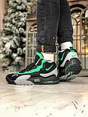 Кроссовки мужские Nike Air Max Speed Turf University серые - зеленые (Top replic), фото 3