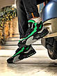 Кроссовки мужские Nike Air Max Speed Turf University серые - зеленые (Top replic), фото 2