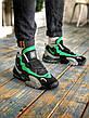 Кроссовки мужские Nike Air Max Speed Turf University серые - зеленые (Top replic), фото 4