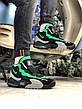 Кроссовки мужские Nike Air Max Speed Turf University серые - зеленые (Top replic), фото 5