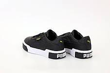 Кроссовки мужские Puma Cali черные (Top replic), фото 2