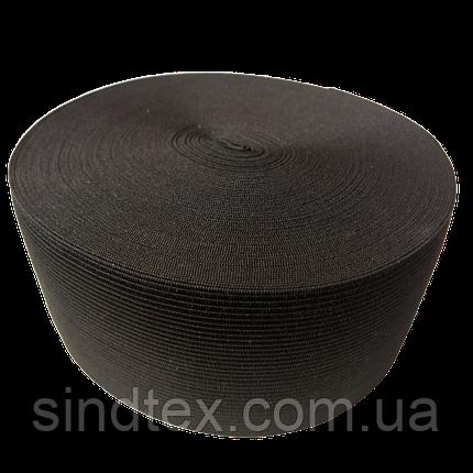 Широкая бельевая резинка для одежды Sindtex черная 7 см х 22,5 м (СИНДТЕКС-0073), фото 2