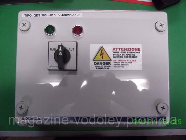 Шкаф управления и защиты трехфазного насоса QET (3 кВт)