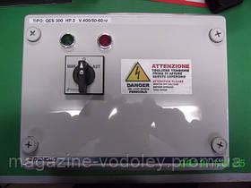 Шкаф управления и защиты трехфазного насоса QET (1,5 кВт)