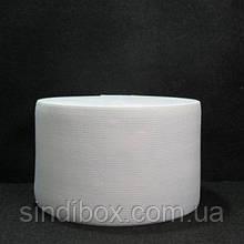 Широкая бельевая резинка для одежды Sindtex белая 8 см х 22,5 м (СИНДТЕКС-0061)
